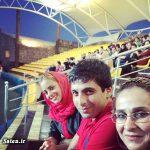 عکسهای جدید از مادر و همسر حمید گودرزی