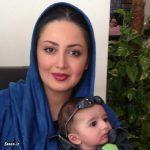 پسر شیلا خداداد در آغوش حسام نواب صفوی + عکس جدید
