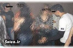 مهمانی فوتبالیست ها دستگیری فوتبالیست پارتی فوتبالیست ها بازداشت فوتبالیست ها
