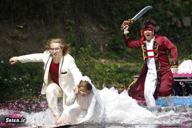عروس و داماد رسم عجیب حمله به عروس تجاوز به عروس ایرلند شمالی اخبار عجیب اخبار جالب
