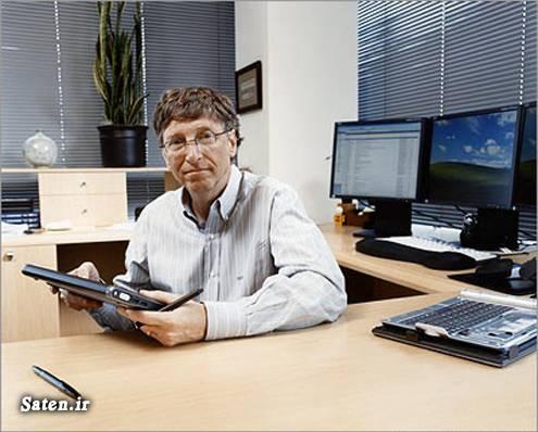 درآمد بیل گیتس ثروتمندترین مرد جهان ثروت بیل گیتس بیل گیتس کیست بیل گیتس چگونه پولدار شد بازرگانى اينترنت اموزش میلیونر شدن اموزش میلیاردر شدن