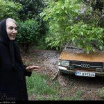خانم بازیگری که در روستا زندگی می کند + عکس