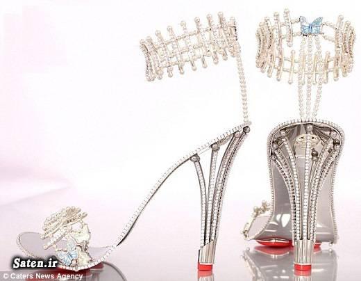 گرانقیمت ترین کفش کریستوفر شلیس خانم ثروتمند price Christopher Shellis price Borgezie Christopher Shellis Borgezie