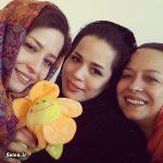آنچه از خانواده شریفی نیا نمیدانید ؛مهراوه ،ملیکا و پدر و مادرشان + عکس