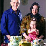 بیژن بنفشه خواه در کنار همسر و دخترش + بیوگرافی و عکس