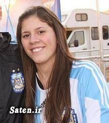 همسر لیونل مسی ماریا مسی لیونل مسی زن لیونل مسی خواهر لیونل مسی خانواده لیونل مسی Maria Sol Messi