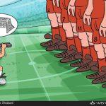 ایران بهترین تیم دفاعی جامجهانی 2014 برزیل! / کاریکاتور