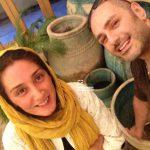 """جدیدترین عکس های """"هدیه تهرانی"""" و همسرش"""