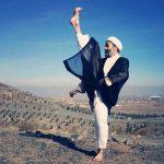 از طنز شرعی تا اجرای فنون کاراته با عمامه و عبا + عکس