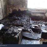 خیابان نوبنیاد تهران ،  مرگ دلخراش در میان آتش + عکس