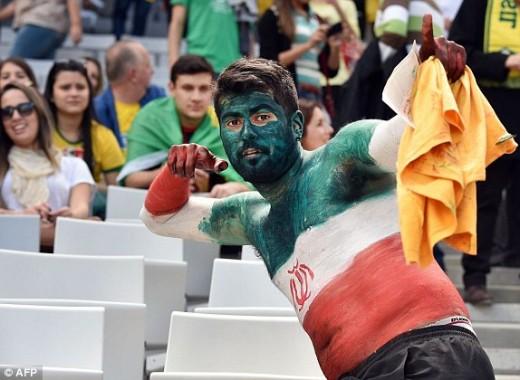 هواداران ایران تماشاگران ایران در برزیل تماشاگران ایران