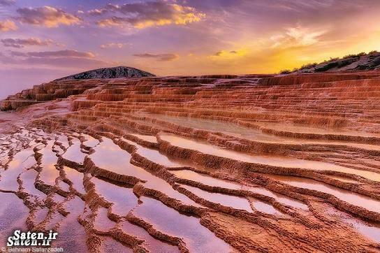 عکس زیبا طبیعت ایران زیبایی ابران چشمههای سورت