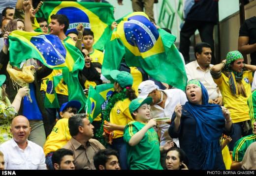لیگ جهانی والیبال ایران برزیل