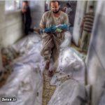 عکس دلخراشی که خبرنگار آمریکایی از غزه منتشر کرد