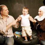 ویشکا آسایش و پسر و همسرش + عکس