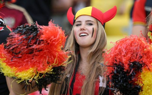 عکس جام جهانی برزیل زیباترین دختر زیباترین تماشاگر دختر زیبا اخبار جام جهانی برزیل Axelle