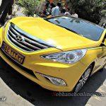 تاکسی تویوتا سوناتا در اصفهان + عکس