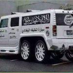 خودرو بسیار عجیب سرکرده داعش + عکس