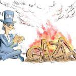 نگاه جالب کاریکاتوریستهای دنیا به غزه + عکس