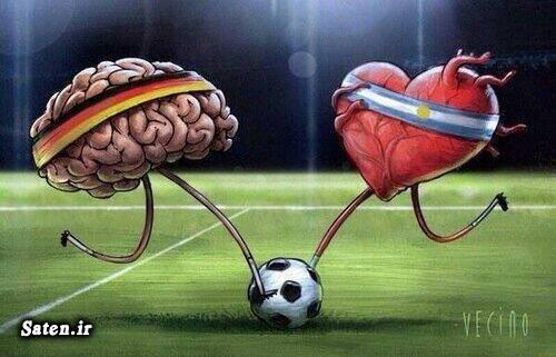 کاریکاتور ورزشی کاریکاتور فوتبالی کاریکاتور جام جهانی