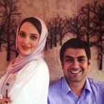 شب رومانتیک مهدی پاکدل و همسرش بهنوش طباطبایی + عکس