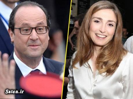 همسر ریس جمهور فرانسوا اولاند ژولی گیه Julie Gayet
