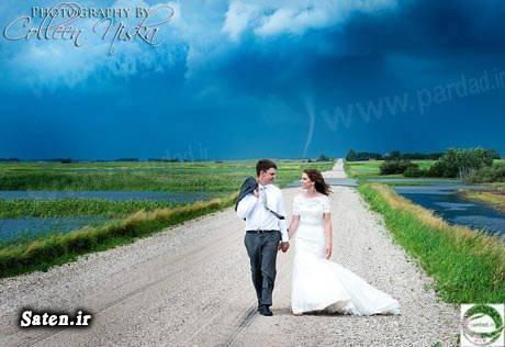 عکس های جالب و زیبا عکس عروسی عروسی جالب ازدواج جالب اخبار جالب