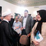 """""""فاطمه دانشور"""" میلیاردر معروف در دیدار با رفسنجانی + عکس"""