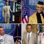 جنجالی که کت و شلوار اوباما به راه انداخت + عکس