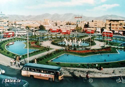 میدان امام حسین عکس قدیمی عکس زیبا عکس تهران قدیم عکس ایران قدیم
