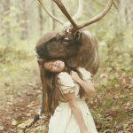 عکس های خیره کننده دختر عکاس روسی با حیوانات واقعی