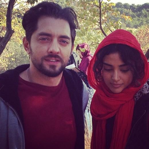 همسر بهرام رادان نامزد بهرام رادان خانواده بهرام رادان بیوگرافی ندا کلاهی بیوگرافی بهرام رادان Bahram Radan