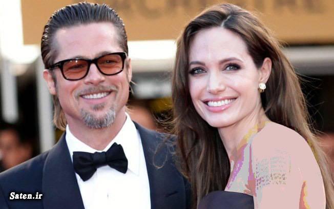 همسر برد پیت همسر آنجلینا جولی بیوگرافی برد پیت بیوگرافی آنجلینا جولی بیماری آنجلینا جولی براد پیت ازدواج آنجلینا جولی Angelina Jolie