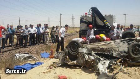 عکس تصادف حوادث اراک تصادف مرگبار اخبار حوادث اخبار اراک