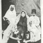 مادر ناصرالدین شاه و خواجه مخصوص + عکس
