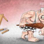 مذاکرات صلح قاهره / کاریکاتور