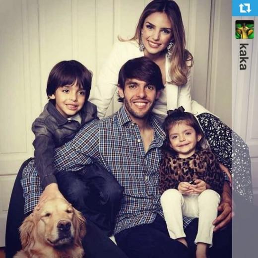 همسر کاکا همسر فوتبالیست ها همسر بازیکنان بیوگرافی کاکا Caroline Celico