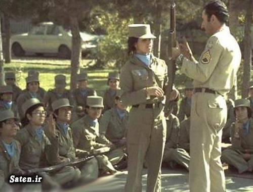 عکس قدیمی دختر سرباز دختر زیبا دختر ایرانی آرایش دختر