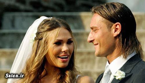 همسر فوتبالیستها همسر فرانچسکو توتی همسر بازیکنان بیوگرافی فرانچسکو توتی