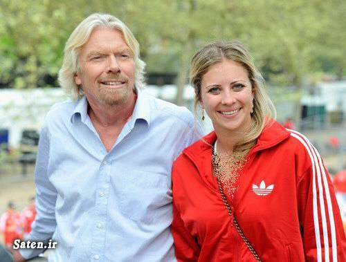 هالی برانسون ثروتمندترین افراد جهان بیوگرافی ریچارد برانسون Richard Branson holly branson