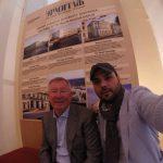 مجری معروف صدا و سیما در کنار  الکس فرگوسن + عکس