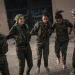 آموزش دختران کرد برای نبرد با داعش + عکس