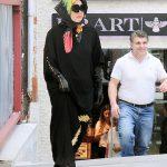 پوشش جالب و متفاوت لیدیگاگا در ترکیه + عکس