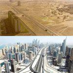 عکس های جالبی از پیشرفت شهرهای مهم جهان در طول زمان