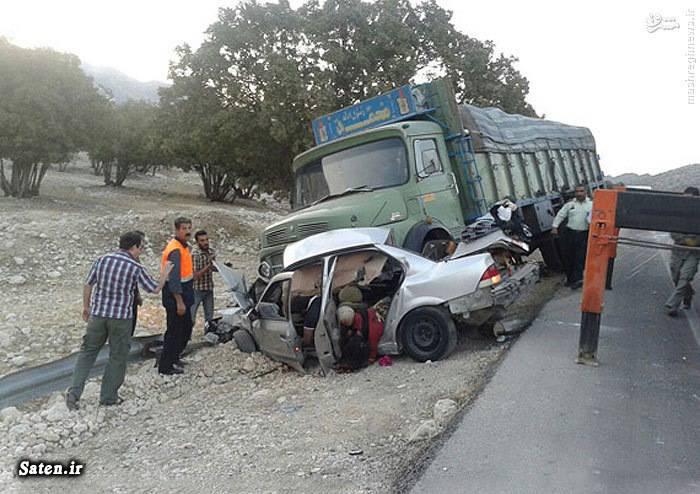 عکس تصادف در شیراز