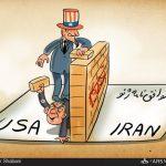 پنجمین دور تحریمهای ضدایرانی پس از توافق ژنو! / کاریکاتور