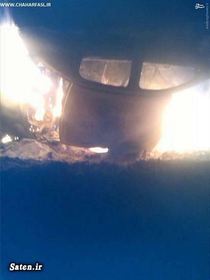 حوادث واقعی تصادف خودرو تصادف 206 اخبار حوادث اخبار تصادف