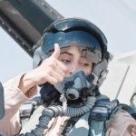 طرد خلبان زن اماراتی- ایرانی به دلیل بمباران داعش! + عکس