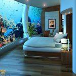 بزرگترین و زیباترین هتل زیرآبی جهان + عکس