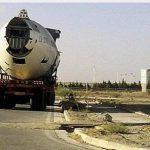 انتقال هواپیما با تریلی در تهران + عکس